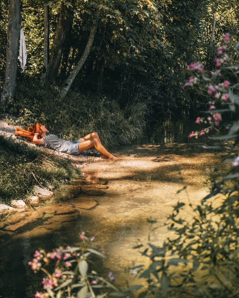 DonAUwald Wanderweg Badestelle