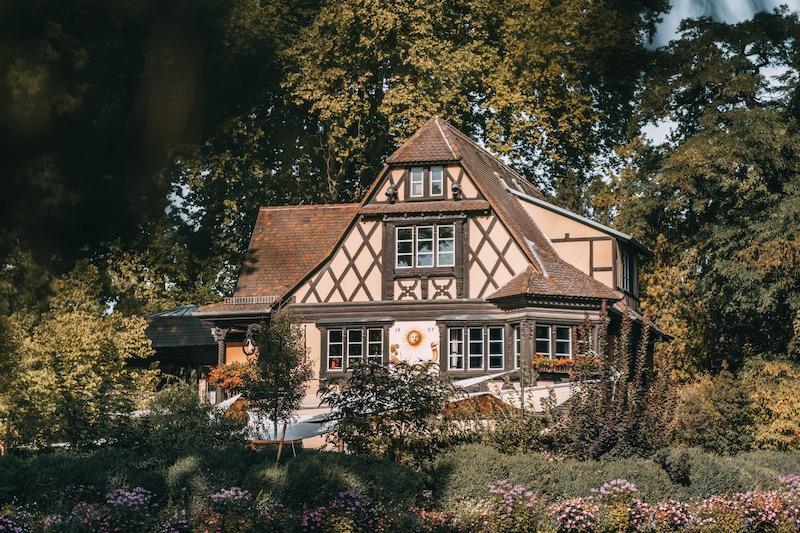 Parc de l'Orangerie Straßburg
