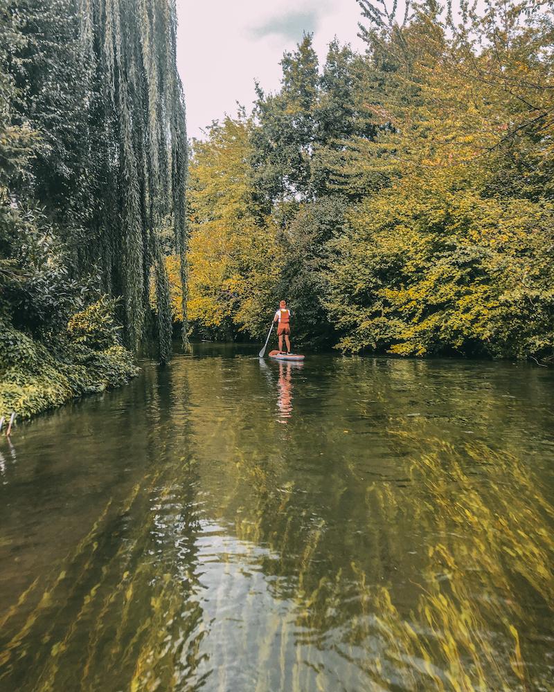 Stand up Paddle Straßburg