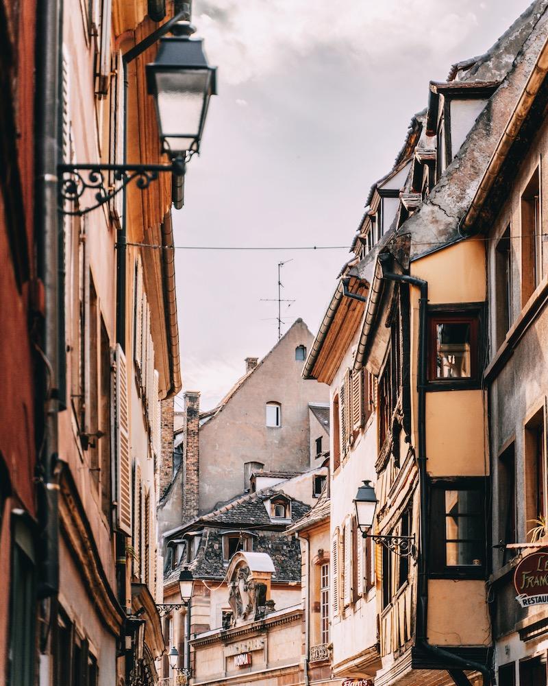 Straßburg Altstadt Gasse
