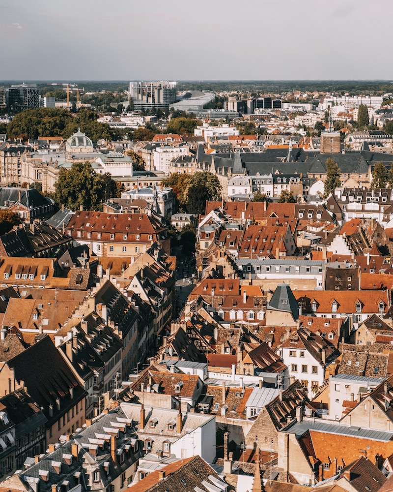 Straßburg Kathedrale Aussichtsplattform