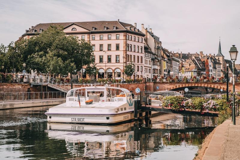 Straßburg Tipps Bootsfahrt