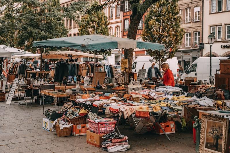 Straßburg Tipps Trödelmarkt