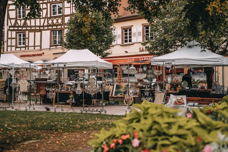 Trödelmarkt Straßburg