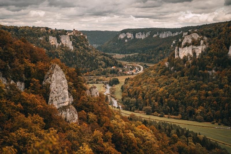Donaubergland Eichfelsen Aussichtspunkt