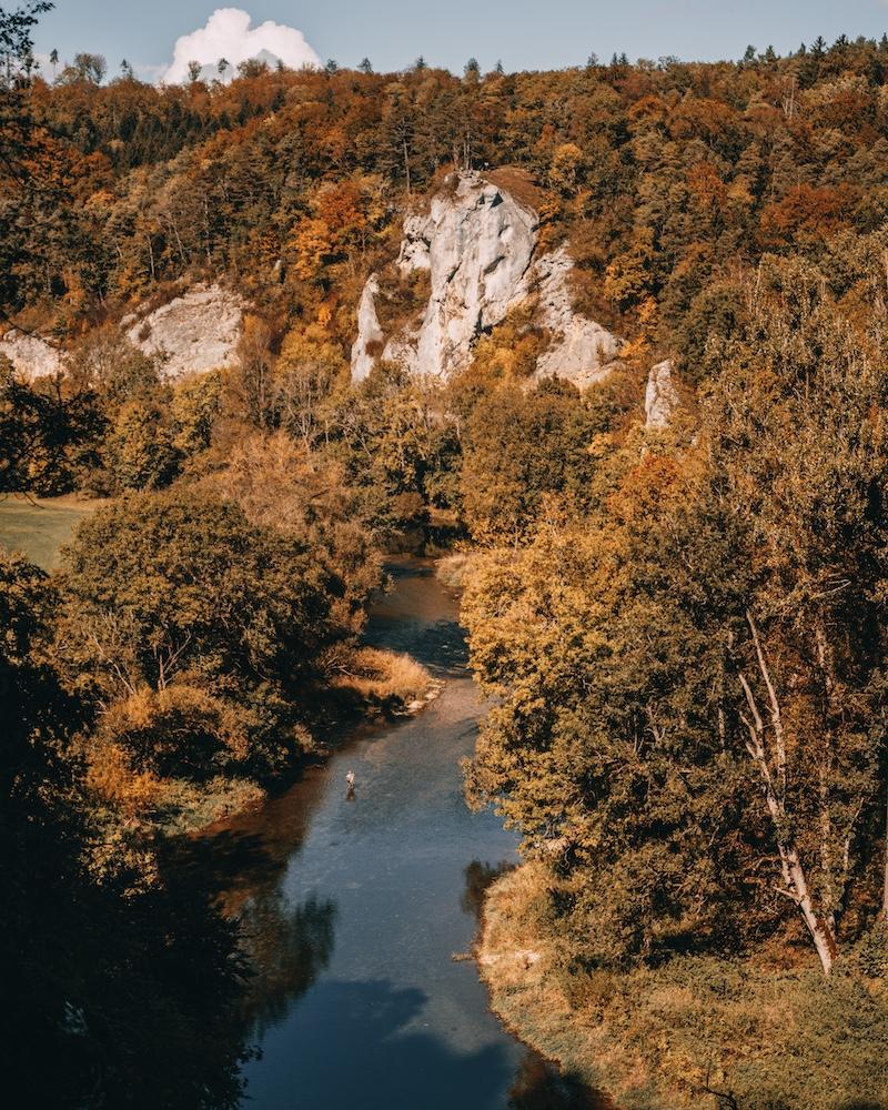 Donauradweg Donaubergland