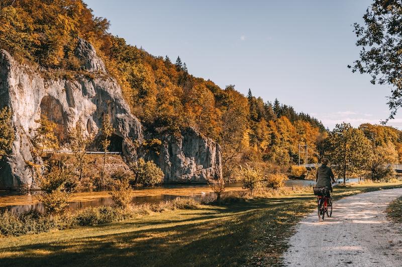 Donauradweg Naturpark Obere Donau