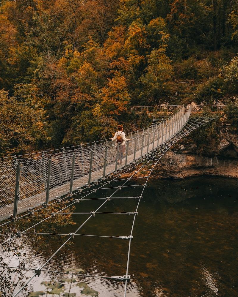 Hängebrücke Inzigkofen Donaubergland