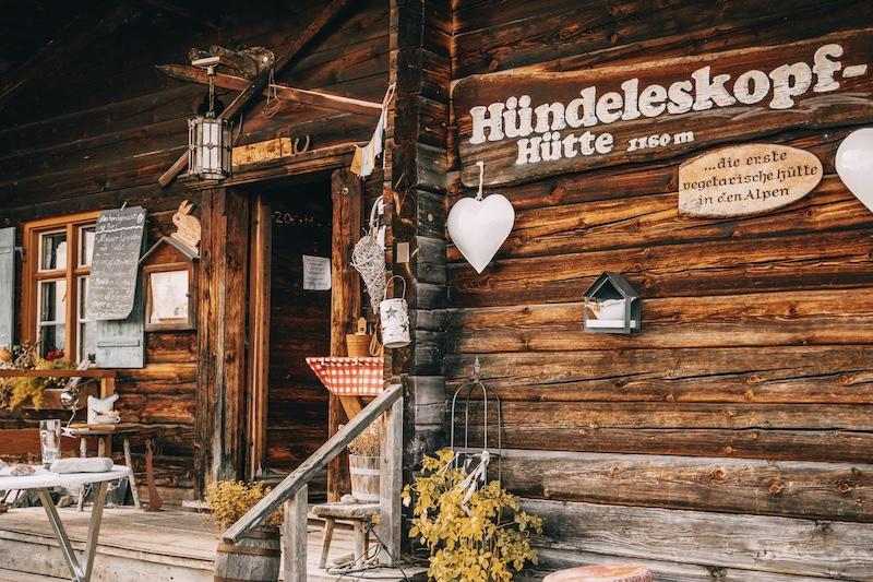 Hündeleskopfhütte Pfronten Urlaub in Bayern