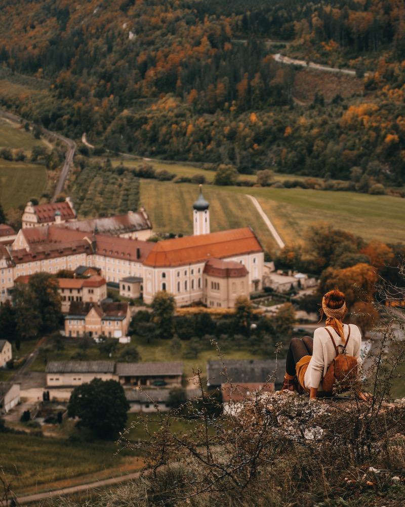 Kloster Beuron Eichfelsen Panorama
