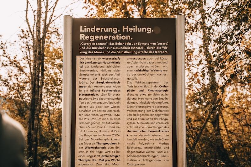 Moorlehrpfad Bad Kohlgrub