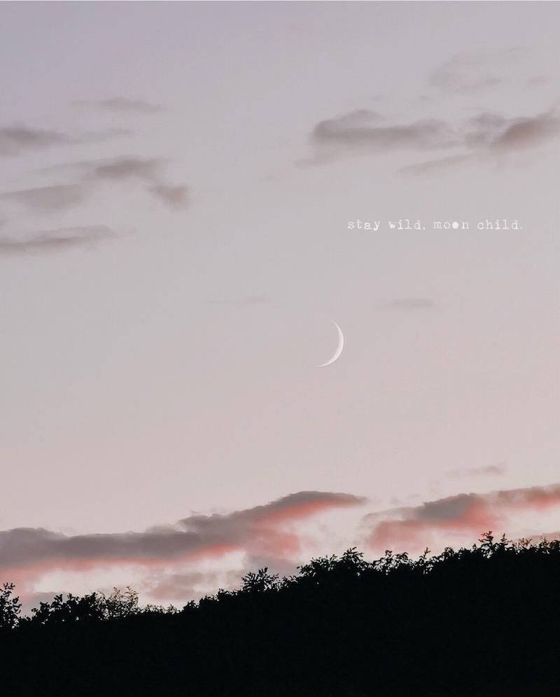 Rauhnächte Mond