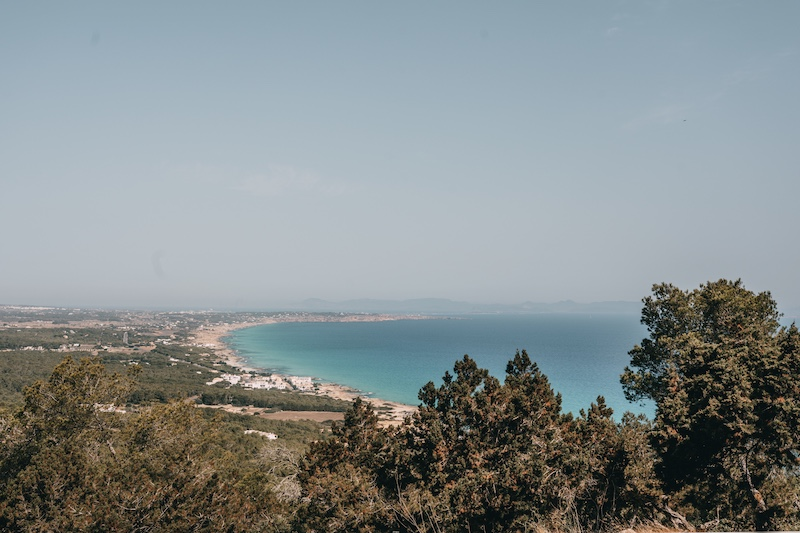 Formentera Aussichtspunkt