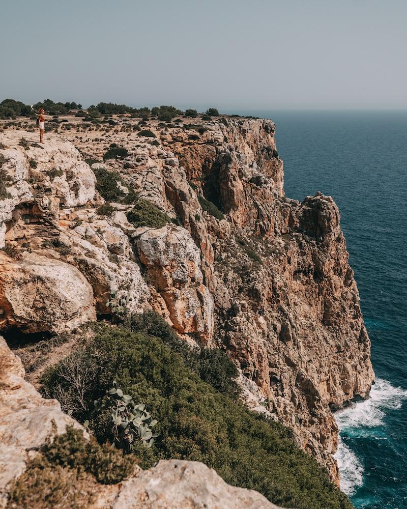 Formentera Steilküste