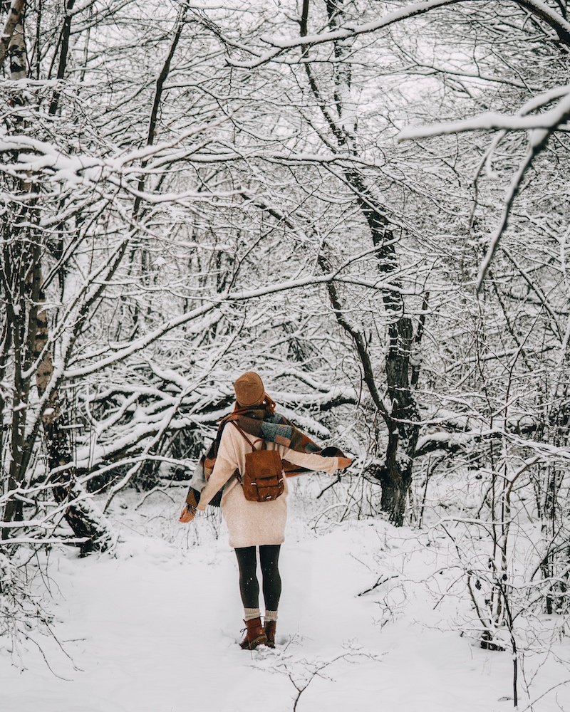 Januar 2021 Schnee