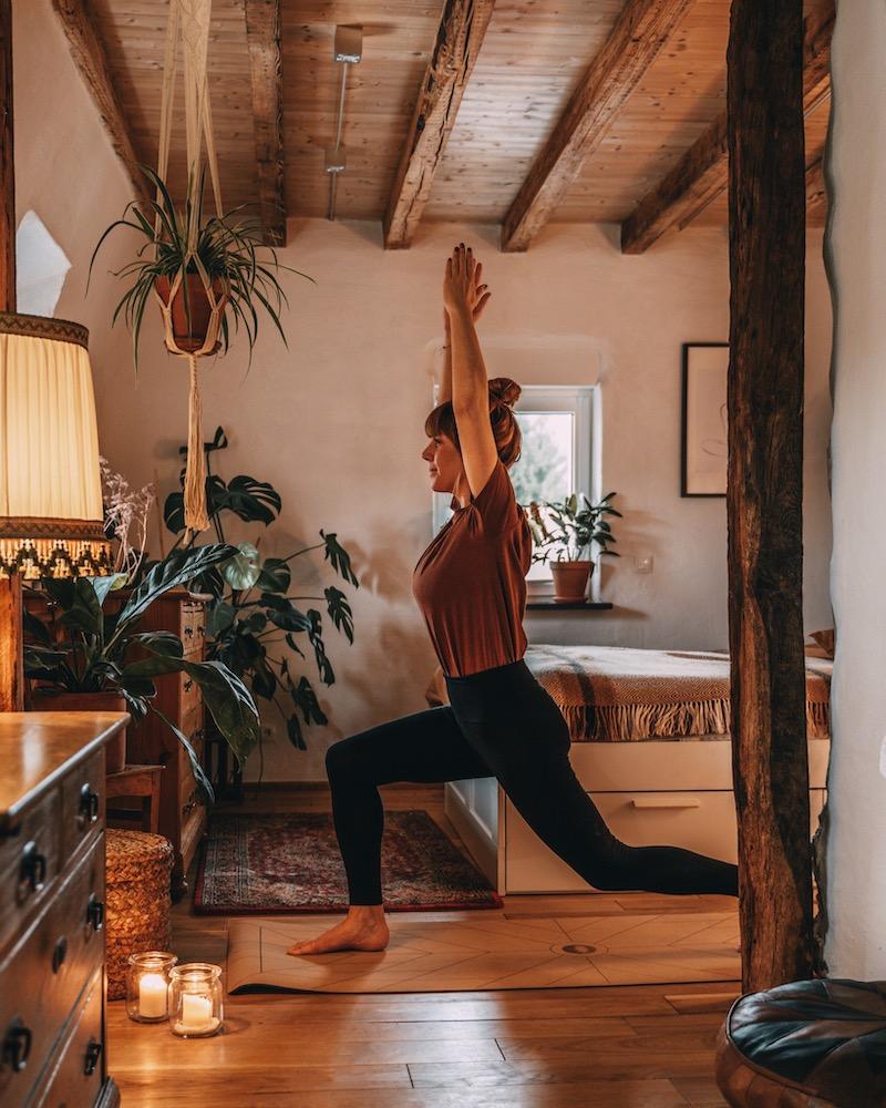 Heilfasten Yoga
