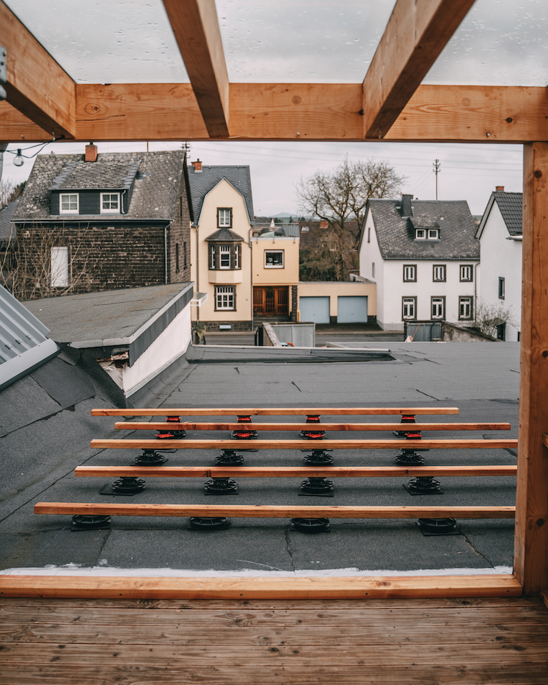 Dachterrasse Anbau
