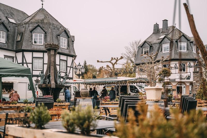 Marktplatz Ulmen Eifel