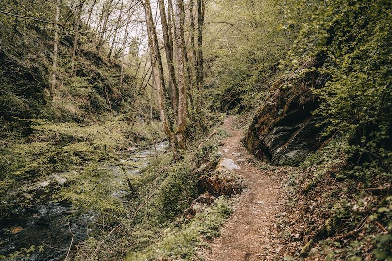 Tal der wilden Endert wandern