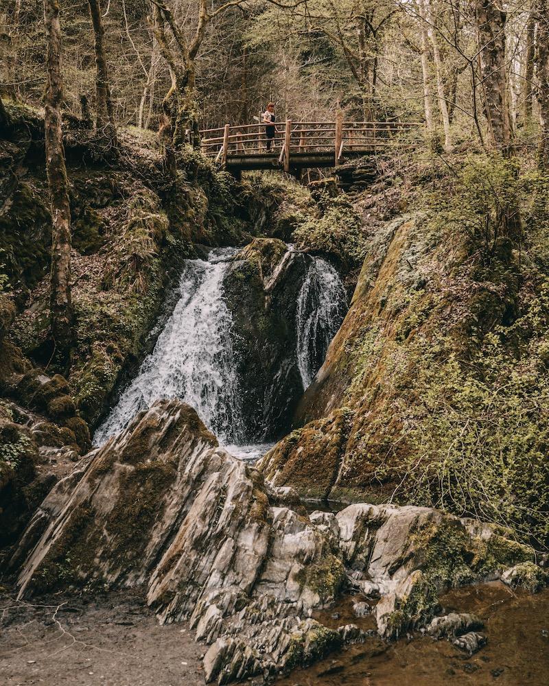 Wanderung im Tal der wilden Endert