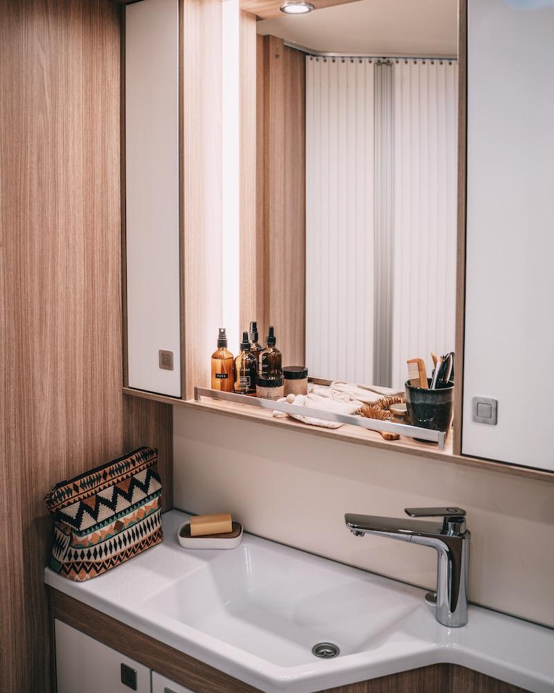 Badezimmer Wohnmobil Bürstner