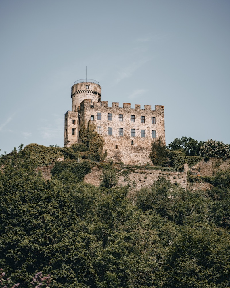 Wandern an der Mosel Burg Pyrmont