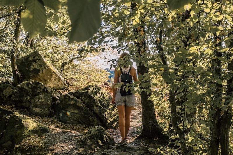 Wanderungen an der Mosel Burg Eltz