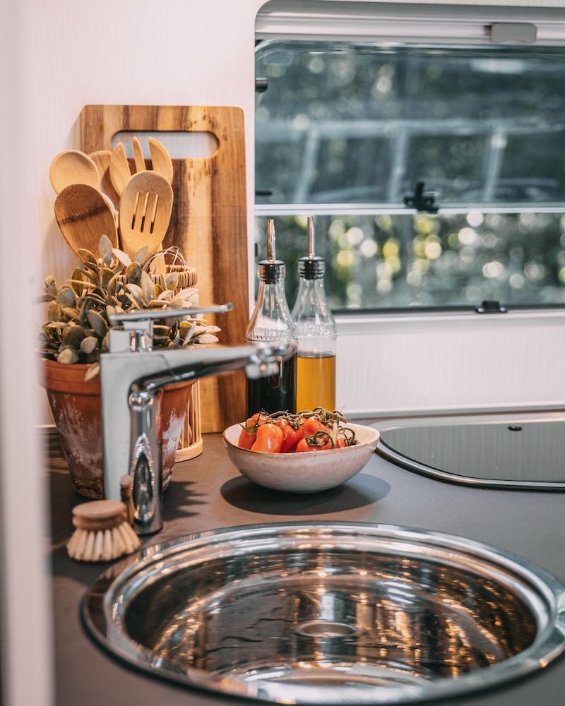 Wohnmobil Bürstner Küche