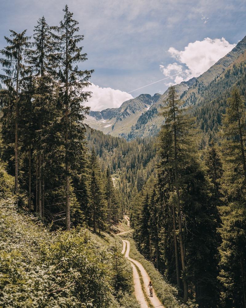 E-Bike Jaufental Südtirol