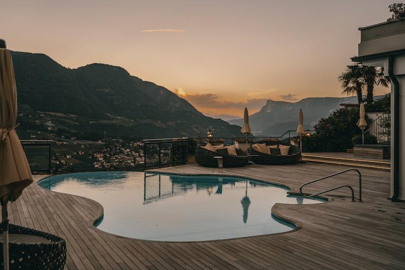 Infinity Pool Hotel Golserhof
