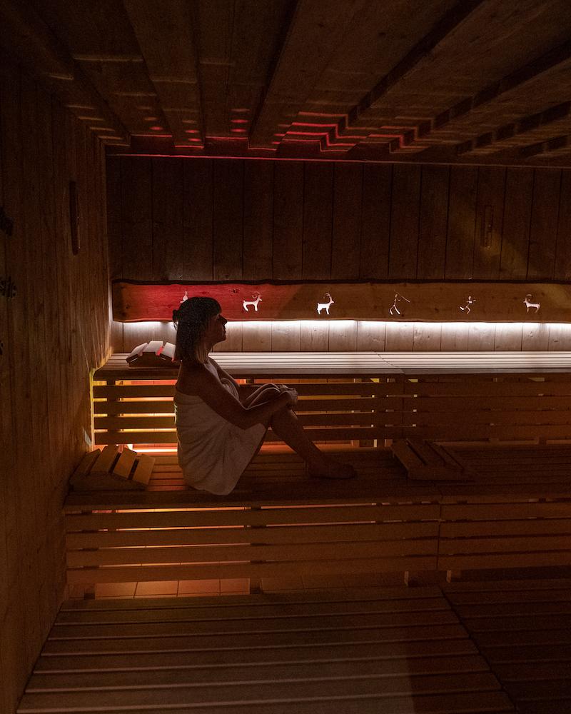 Sauna Artnatur Dolomites