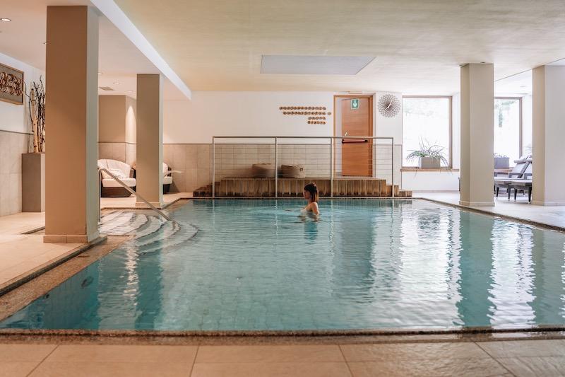 Schwimmbad Naturhotel Rainer