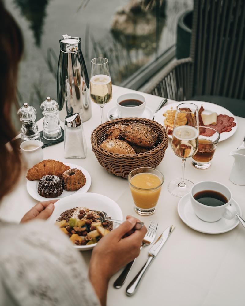 Frühstück Ortner's Resort Bad Füssing