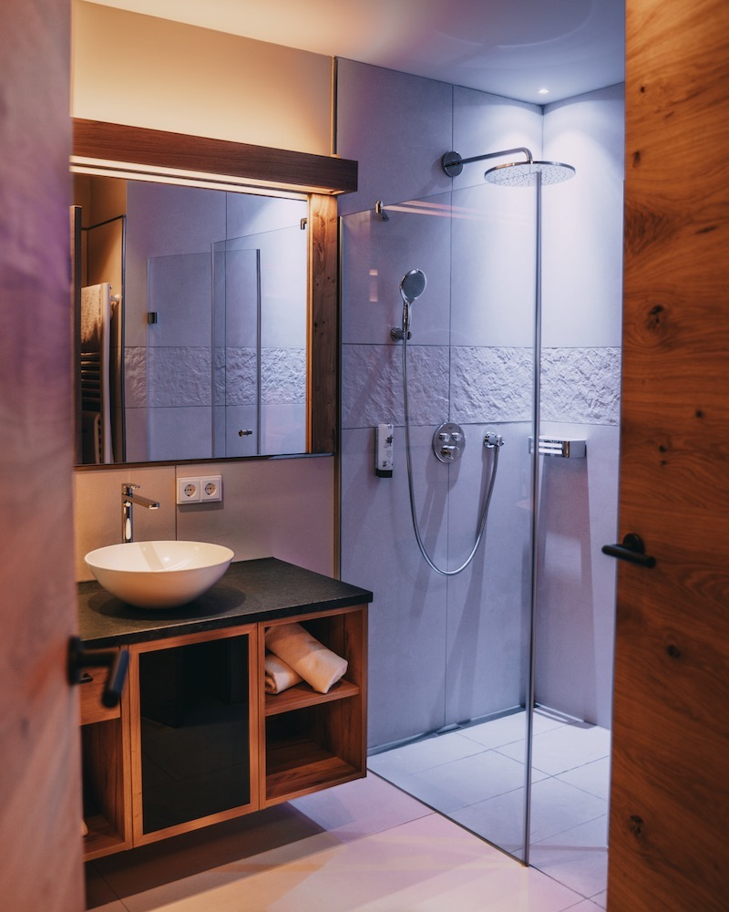 Ortner's Resort Suite Badezimmer