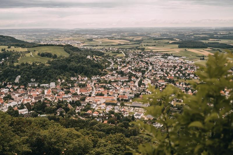Remstal Aussichtspunkt Rosenstein