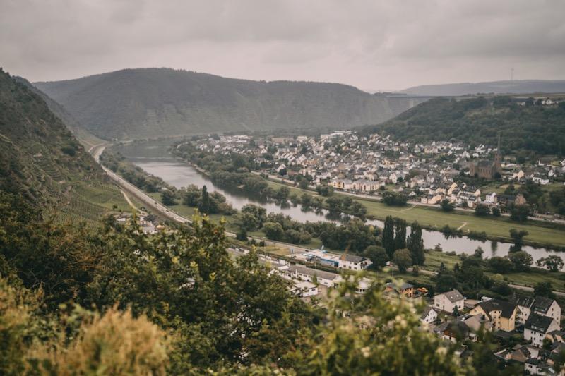Moselschieferstraße Ausblick