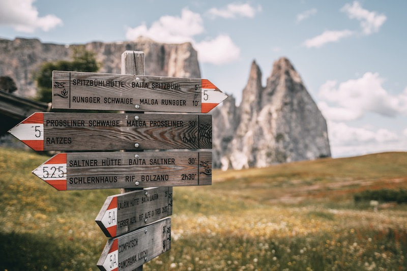 Wanderung Seiser Alm