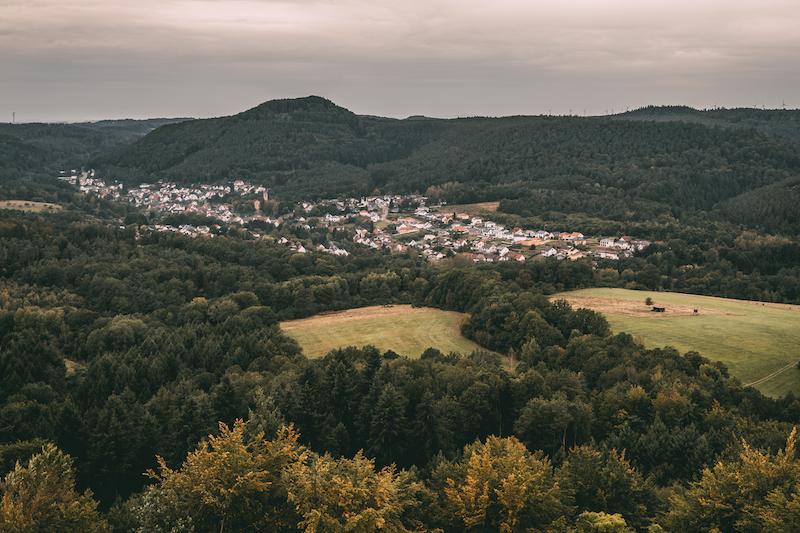 Ausblick Burg Gräfenstein