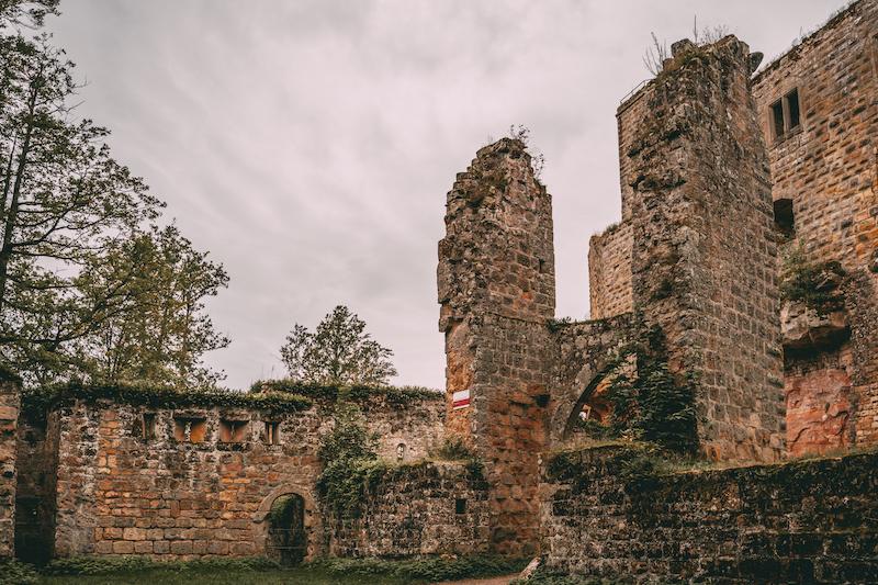 Burg Gräfenstein Merzalben