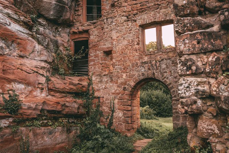 Burg Neudahn Pfalz