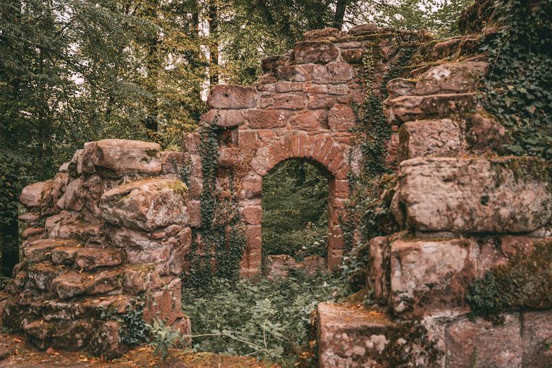 Neudahn Burgruine Pfälzer Wald